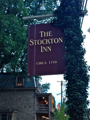 Stockton Inn for dinner in a historic setting!